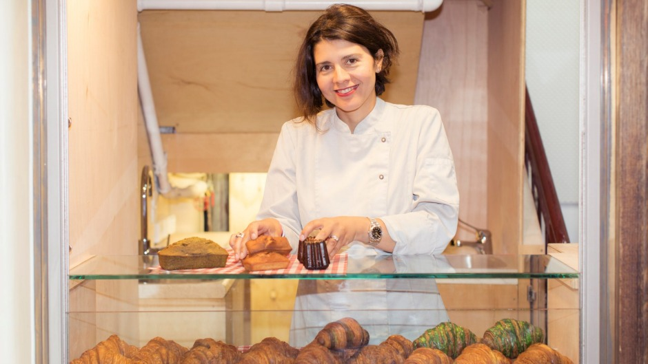 Agathe Kerr in her Agathe Patisserie Petite in the Royal Arcade.