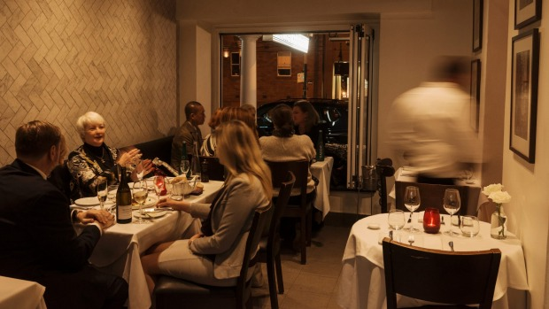 A loyal customer following is key to Macleay Street Bistro's success.