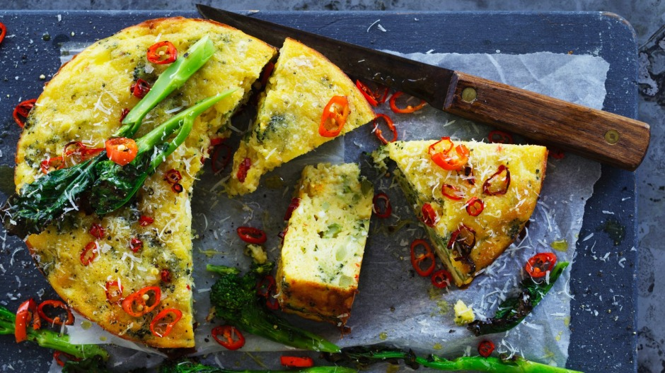 Sick of zucchini slice? Try this broccoli cake.