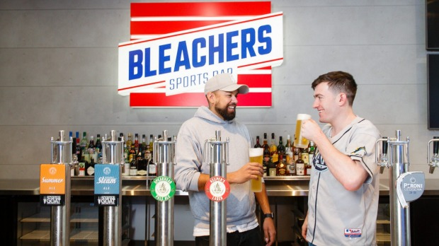 Just open: Bleachers Sports Bar in Canberra's Melbourne ...