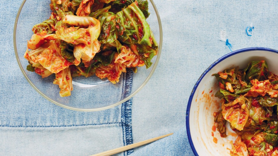 Extra fermented kimchi is perfect for using in stews and fried rice.