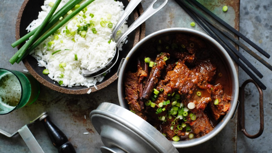 The spice is right: Neil Perry's cinnamon braised beef.