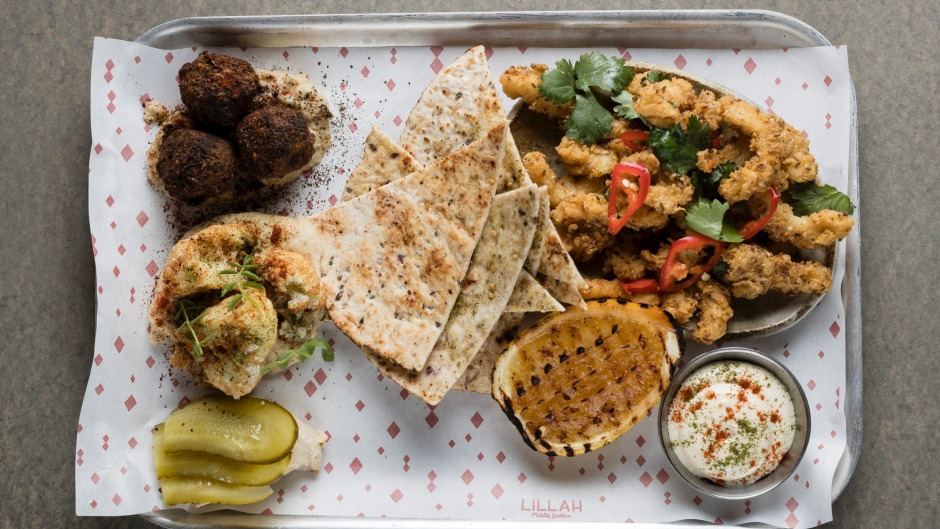 Go-to dish: the Old City platter at Lillah.