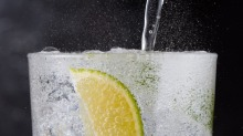 Should gin be served with tonic water, or just water?