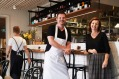 Chef Simon Sandall and Susan Sullivan at Boronia Kitchen.