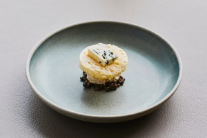 Savoury or sweet? The cheese course at Laura, Point Leo Estate.