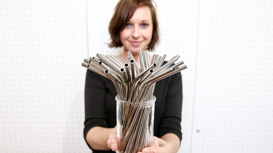 Straws suck: Some bars are switching from plastic to metal drinking straws.