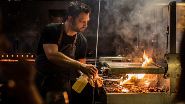 Lennox Hastie of Firedoor was named Citi Chef of the Year 2020.