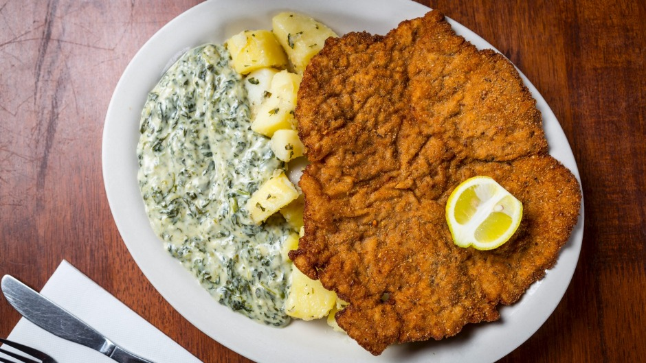 Not all diners want to tackle a schnitzel the size of Tasmania.