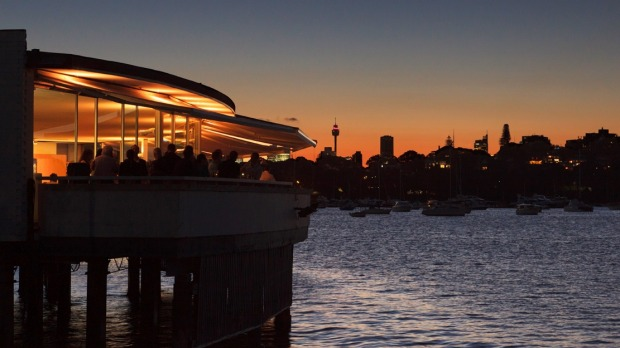Catalina, Rose Bay, where owner Judy McMahon has observed a shift in the amount diners are spending.