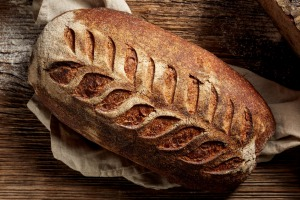 Gluten gives dough its stickiness and stretch.