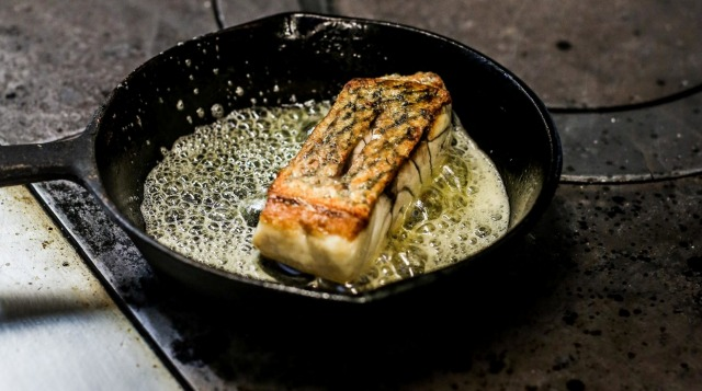 Donovan Cooke's perfect pan-fried fish.