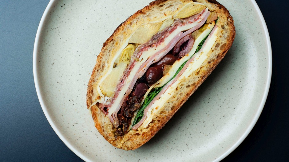 Farewell: A1's muffuletta sandwich quickly became a must-try dish in Sydney.