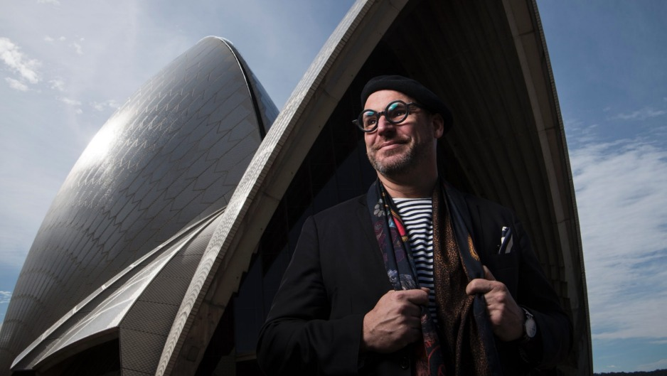 John Fink, creative director of The Fink Group which owns harbourside restaurants Bennelong, Otto and flagship Quay.