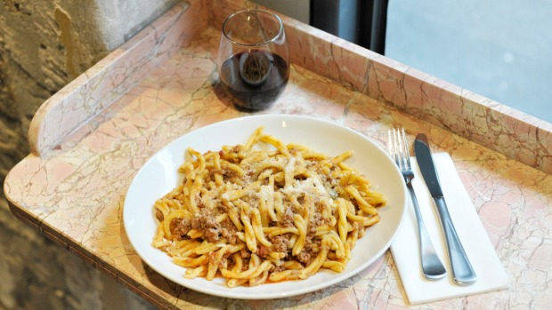 Matt Piccone's family ragu recipe with casarecce.