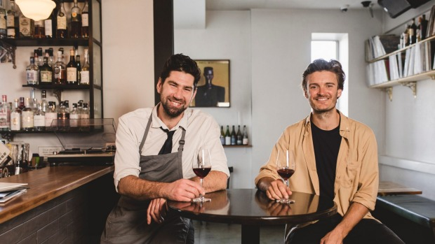 Rochford head chef Louis Couttoupes (left) and owner Nick Smith.