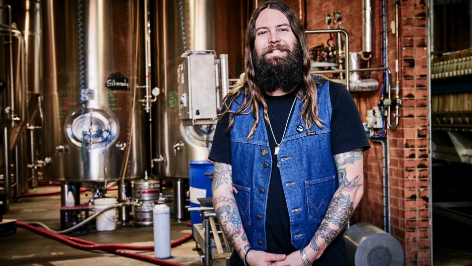 "Young Henrys brewery co-owner Oscar McMahon: ""Mates buy mates the beer they want, not the beer they think they should have."""