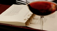 Familiarise yourself with the wine list.