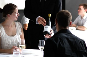 Don't be shy, sommeliers are there to help guide your wine selection.