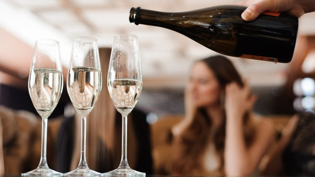 Celebrating? Consider ordering a bottle   of champagne, rather than individual glasses.