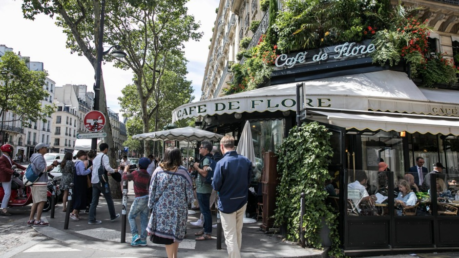 People-watching spot: Cafe de Flore.