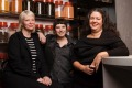 Iris Rees, Gemma Whiteman and O Tama Carey of Lankan Filling Station.