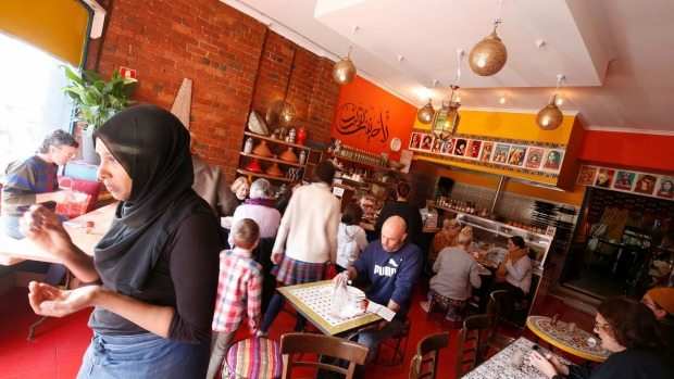 The Moroccan Soup Bar spin-off is 600 metres up the road from the mothership.