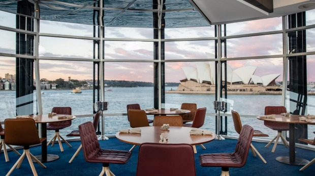 Quay 2.0 features new carpet and custom-designed chairs that reference the sails of the Opera House.