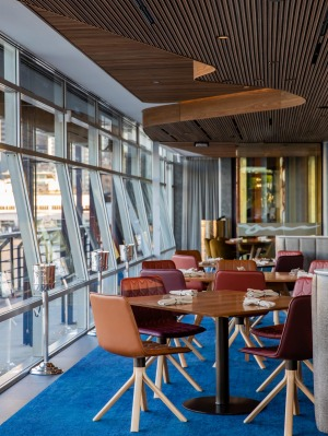 Inside the new-look Quay.