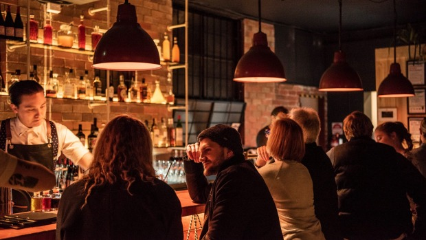 Lay Low Bar's focus is on good times and minimal waste.