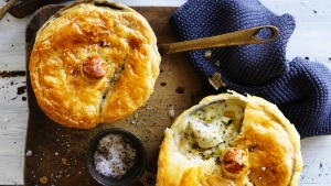 Neil Perry's fish pot pies