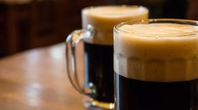 Dark-coloured, strongly flavoured wintry brews.