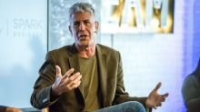 The late TV personality, writer, and entrepreneur Anthony Bourdain.