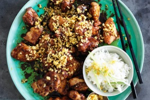 Adam Liaw's chicken salpicao recipe.