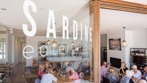 Get hooked: Sardine eatery in East Gippsland.
