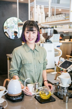 Mica Chen of Meet Mica cafe in Surry Hills.