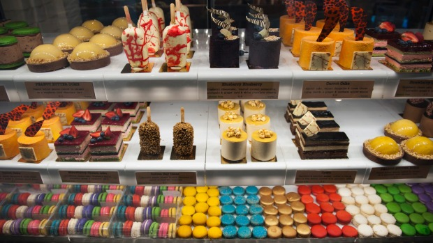Can you resist Space Kitchen's colourful treats?