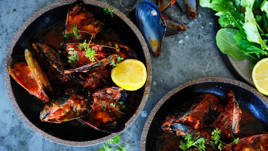 These stuffed mussels are worth the effort.