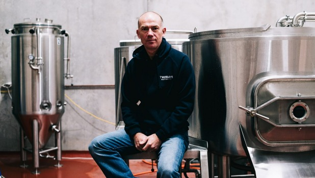 Richard Jeffares, from Two Bays Brewing Co on the Mornington Peninsula.