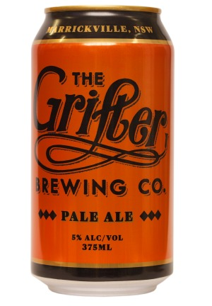 Grifter Brewing Co. Pale Ale.