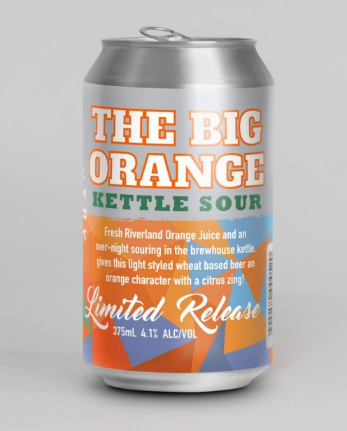 6. Woolshed Brewing The Big Orange Kettle Sour.