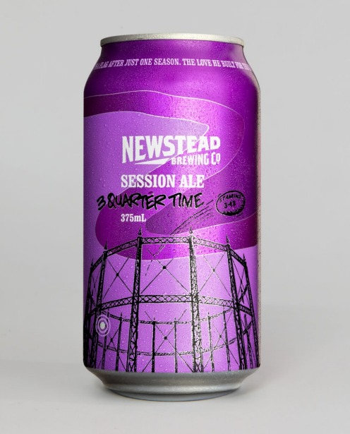 8. Newstead Brewing 3 Quarter Time Session Ale.