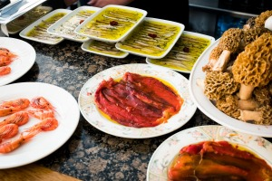 Old favourites: Located in the Old Town, Ganbara offers snacks steeped in tradition.