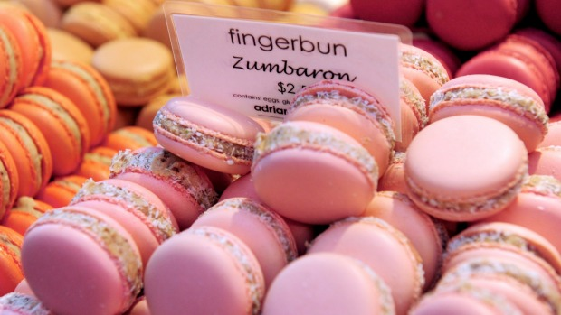 Adriano Zumbo's reputation has been built on imaginatively flavoured macarons, dubbed Zumbarons.