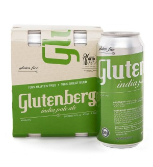 Glutenberg IPA, a gluten-free expression of an India Pale Ale.