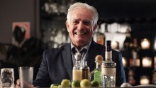 The king of cocktails, Dale DeGroff, says a good disposition and a repertoire of jokes are a bartender's best tools.