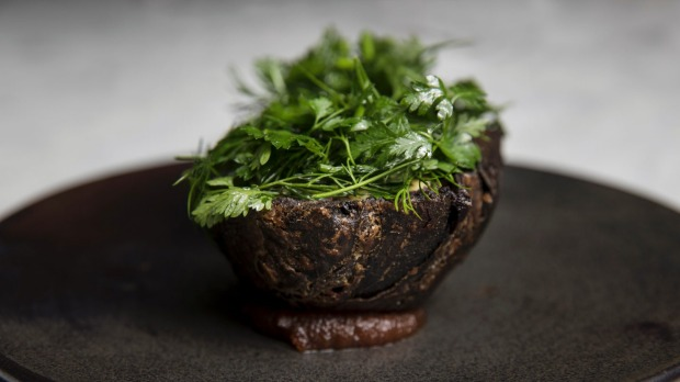 Go-to dish: Blood pie is heir apparent to Ester's blood sausage sanga.