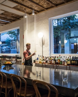 Poly is a new subterranean walk-in wine bar in Surry Hills.