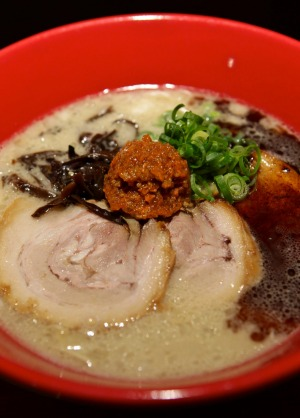 Japanese chain Ippudo brought its creamy tonkatsu, miso and garlic ramen to the city.