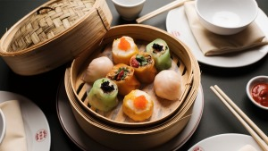Virtuoso is virtuoso: Queen Chow's dim sum platter.